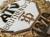 Odznaka sportowa (badge, abzeichen, nadel) ATV (Alter Turnverein) Beuthen O.S. Towarzystwo sportowe powstało w 1879 roku.