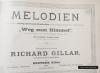 Richard Gillar 1905 Beuthen O/Schl - nuty.