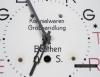 Porcelanowy zegar kuchenny Georg Geppert Kolonialwaren Grosshandlung Beuthen